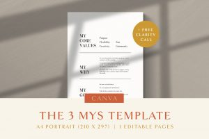3 MYs Templates Cover