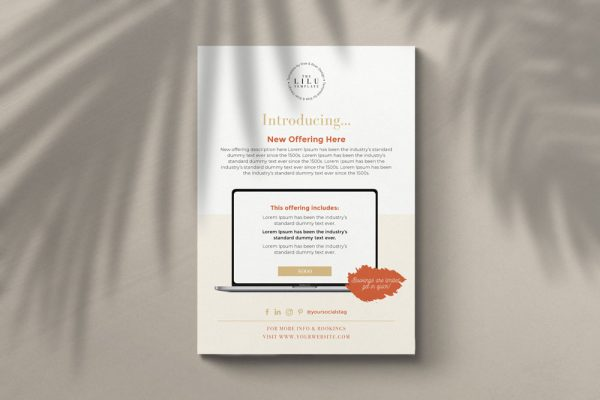 Flyer Templates Cover