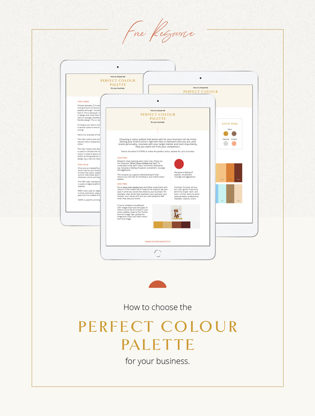 Perfect Colour Palette Free Resource